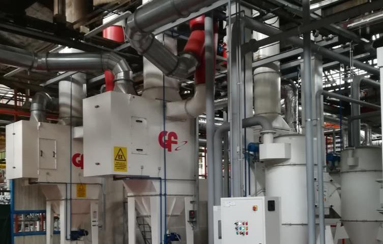 Cabine di revisione per particolari in alluminio con for Sostituzione filtro aria cabina 2014 f150