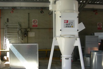 ABRASIVE POWDERS COLLECTOR G.F.P TUR
